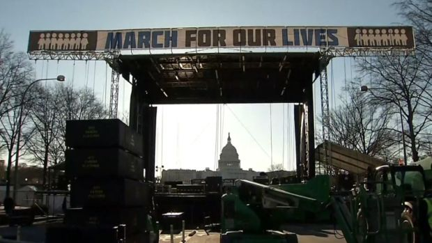 """[NATL] Thousands Gather for """"March For Our Lives"""""""