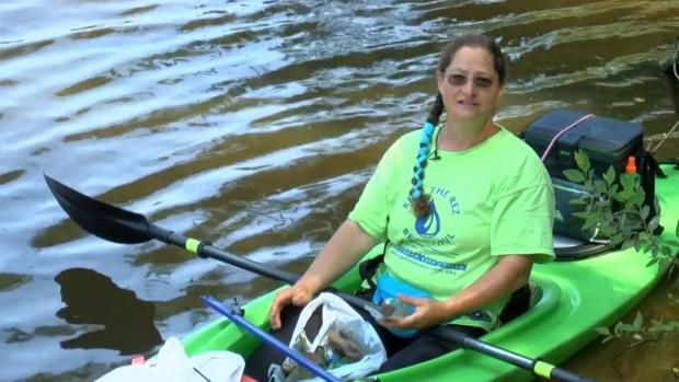 [DFW] Kayaker Finds Message in a Bottle, Looking for Senders