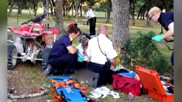 [DFW] Texas Boy Crashes ATV, Gets Bitten by Snake