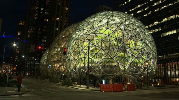 [DFW] Amazon Unveils 'Spheres' in Seattle