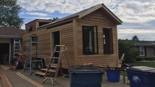 [DFW] Woman Builds Tiny House, Stolen From Street
