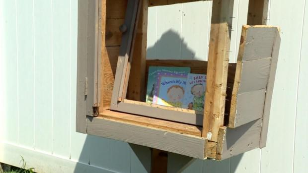 [DFW] Little Library Blown Up by Fireworks