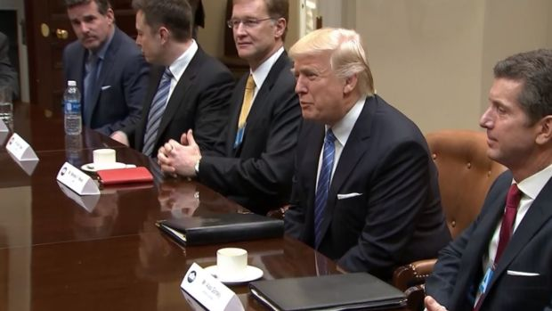 [NATL] Trump Focuses on Jobs for First Working Day