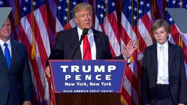 Donald Trump Claims Presidency