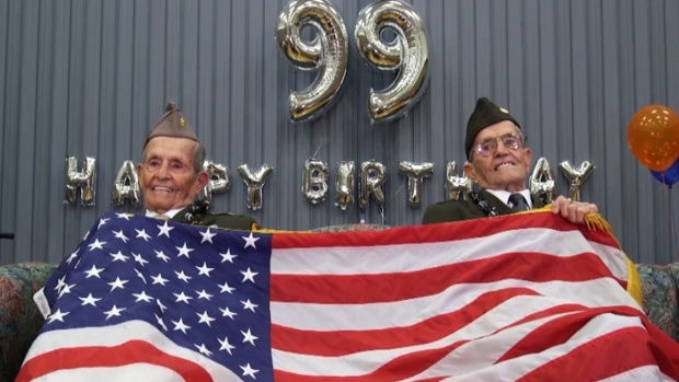 [NATL-NY] World War II Twins Celebrate 99th Birthday