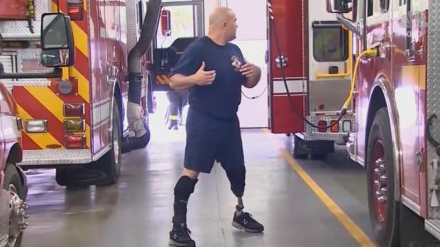 [DFW] Disabled Veteran Graduates Fire Academy