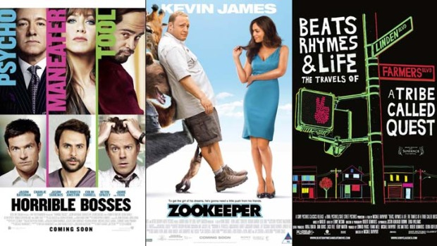 "This Week's New Movies: ""Horrible Bosses,"" ""Zookeeper,"" A Tribe Called Quest & More"