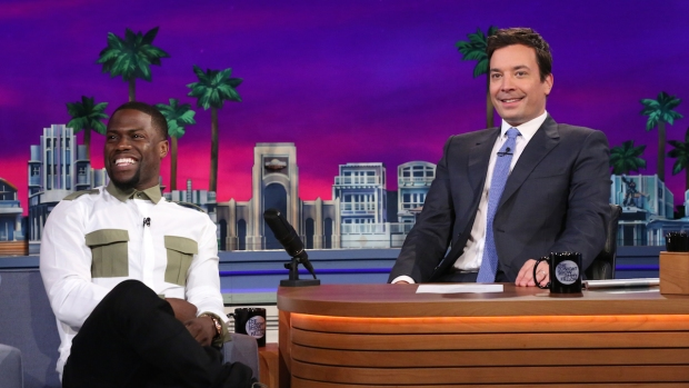 """[NATL] Kevin Hart Dishes on WWE Raw Appearance on """"Tonight Show"""""""