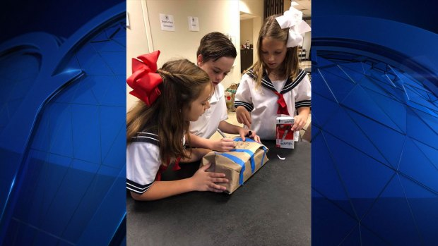 Gallery: The Episcopal School of Dallas Third Graders Collect 3,000 Items To Feed Hungry