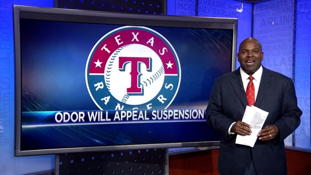 Newy Scruggs on Rougned Odor's Suspension