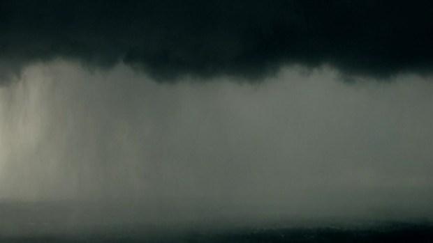 Raw Video: Aerials of Tornado in Oklahoma