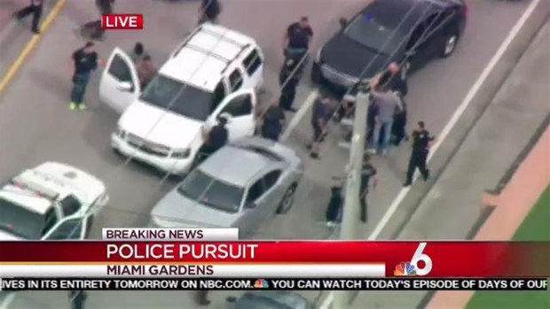 [NATL] WATCH: High-Speed Chase Ends in Southwest Miami-Dade
