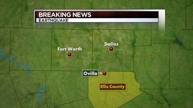 [DFW] 2.4 Maginitude Quake Reported in Ovilla