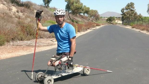 [DGO] Veteran-Turned-Paralympic Skiier Preps for Games