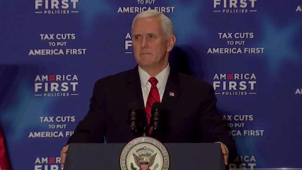 [DFW] VP Talks Florida School Shooting, Tax Cuts in Dallas Speech
