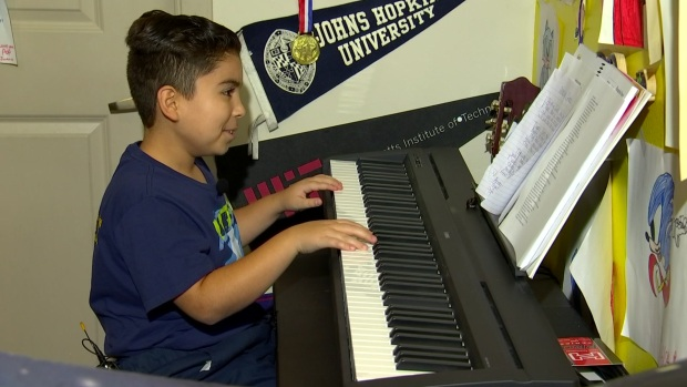 9-Year-Old Irving Boy Showcases Talent, Plays 'Amazing Grace