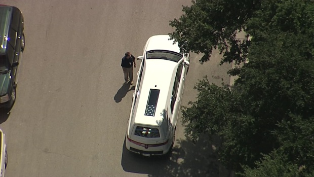 Police Escort Fort Worth Officer to Cemetery