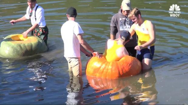[NATL] Watch a Giant Pumpkin Regatta