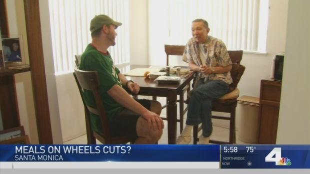 [NATL-LA] Purple Heart Vet Receives Meals on Wheels