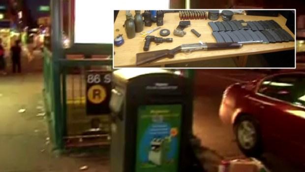 [NY] Man With Shotgun on Subway Is Mentally Ill: Mom