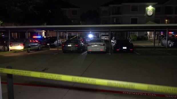 RAW: Man Fatally Shot at Dallas Apartment Complex
