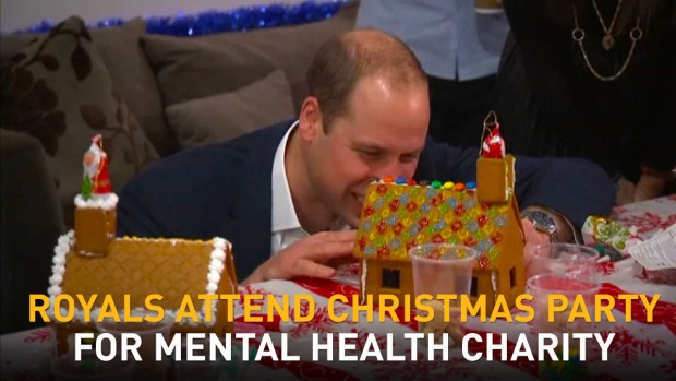 [NATL] British Royals Attend Christmas Party for Mental Health Charity