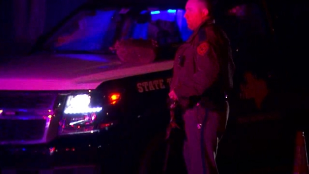 Raw Video: Police Respond to Shooting in Richardson
