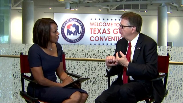 Lt. Gov. Dan Patrick Discusses Transgender Rights (Raw Video)