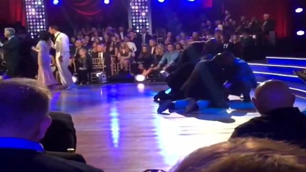 'DWTS' Disturbance Involving Ryan Lochte (Raw Video)