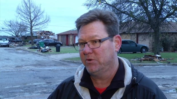 Raw Video: NWS Assesses Ellis County Damage