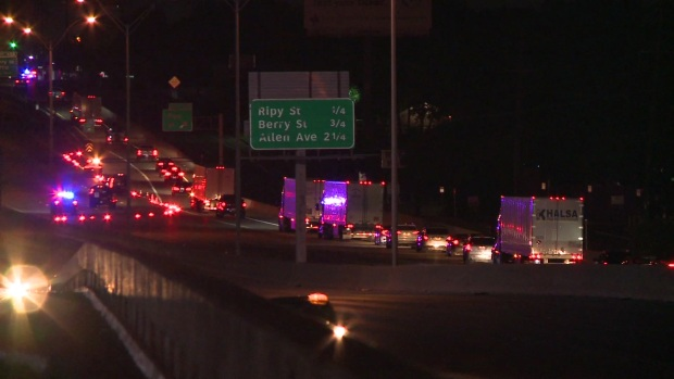 [DFW] Raw: Driver Ejected From Vehicle, Killed in Crash in Fort Worth