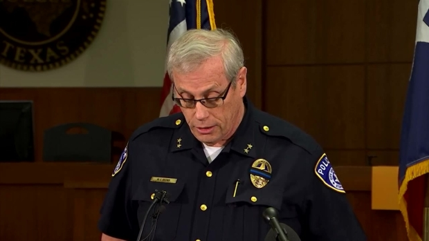 Euless Press Conference on Officer Shooting (Raw Video)