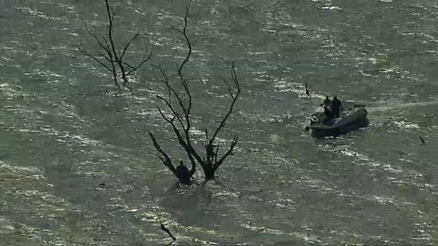 Raw: See the Rescue on Lake Ray Hubbard