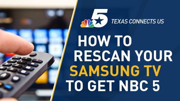 How to Rescan Your Television to Receive NBC 5's Signal