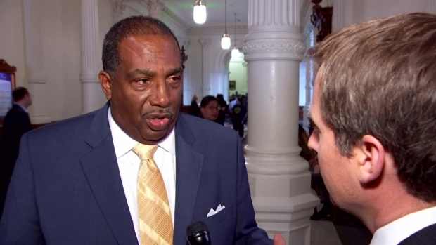 Raw Video: State Sen. Royce West Discusses DCS