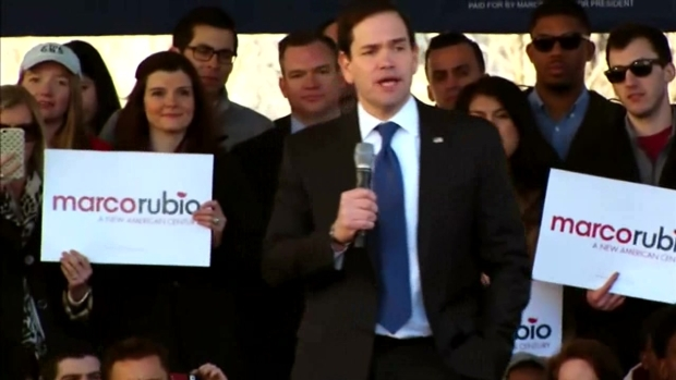 [DFW] Rubio Mocks Trump's Tweets During Dallas Rally