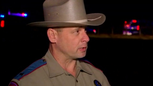 RAW VIDEO: Update After a Texas State Trooper Killed