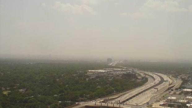 Saharan Dust Moves Through Dallas