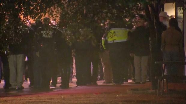 Officers Salute Body of Fallen Little Elm Detective