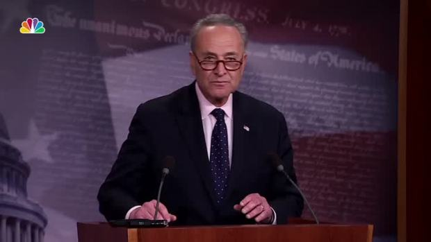 [NATL] 'Deeply Troubling Pattern': Schumer Calls for Special Prosecutor