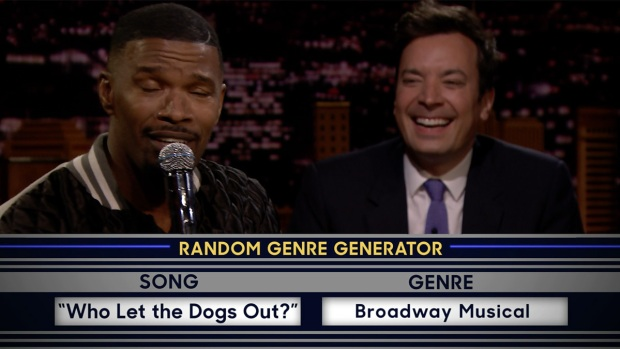 [NATL] 'Tonight': Musical Genre Challenge With Jamie Foxx