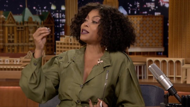 [NATL] 'Tonight': Taraji P. Henson Demonstrates Her Cardi B Impression
