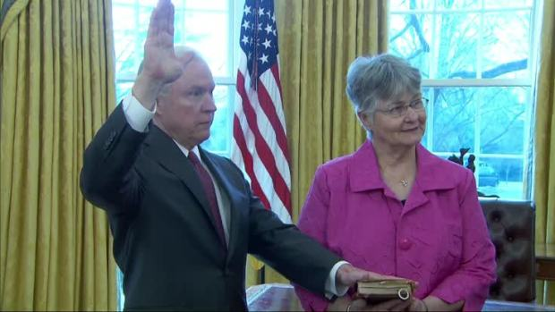 [NATL] Jeff Sessions Sworn in as Attorney General