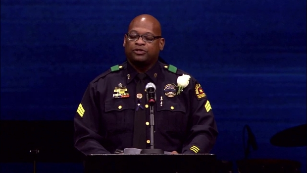 Sgt, Pickens' Remembrance of Slain Sgt. Michael Smith