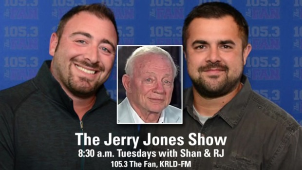 [DFW] The Fan's Shan and RJ, 'Jerry Jones Show' From Aug. 21, 2018