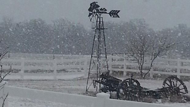 Your Snow and Sleet Photos - February 2, 2014