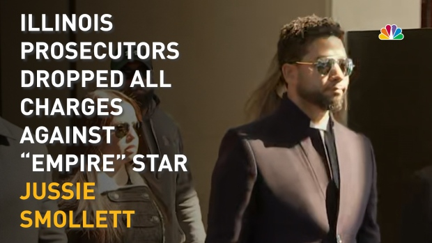 [NATL] All Charges Dropped Against 'Empire' Star Jussie Smollett