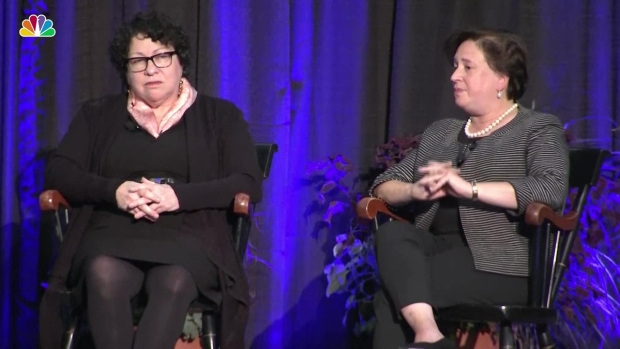 [NATL] Justices Sotomayor, Kagan Talk Division and Equality