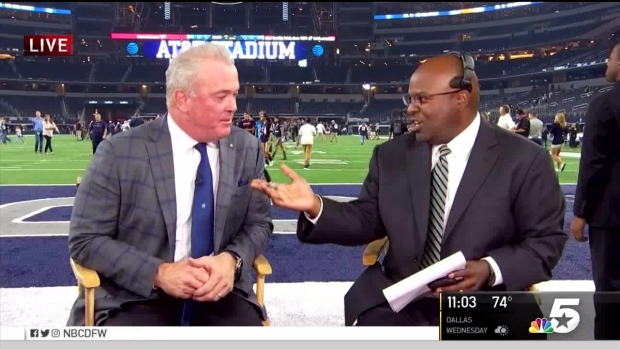 [DFW] Stephen Jones Talks About Cowboys Victory Over Bears