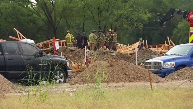 1 Dead, 5 Hurt After Building Under Construction Collapses